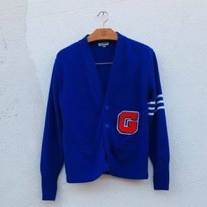 """Other - 90s Collegiate Varsity """"G"""" Cardigan Made In USA"""